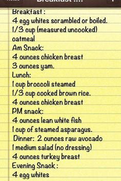 This is a general meal plan I follow my husband and boys eat differently so meal prep and planning is a must!!!! I enjoy this life style and the amazing people iv met especially the elderly at the gym! They are all amazing