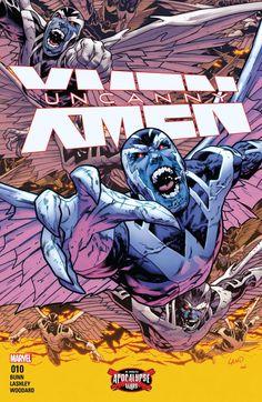 Uncanny X-Men (2016) #10 #Marvel @marvel @marvelofficial #UncannyXMen (Cover Artist: Greg Land) Release Date: 7/20/2016