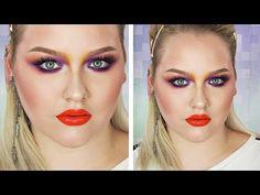 Color Crazy 1980's Makeup Tutorial