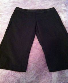 Adidas Climalite Women's Golf Shorts Black Size 10 NWT