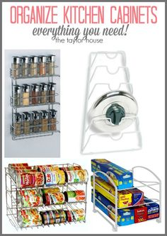 101 Ways to Get Your Home Organized - The Taylor House Household Organization, Kitchen Organization, Storage Organization, Organizing Tips, Storage Ideas, How To Make Smoothies, Making Smoothies, Best Blenders, Organize Your Life