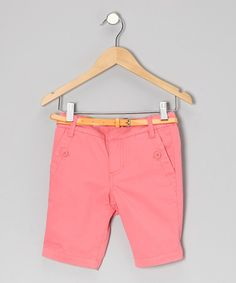 Look what I found on #zulily! Petunia Hyacinth Bermuda Shorts - Girls by Eddie & Stine by Eddie Bauer #zulilyfinds