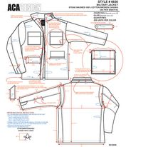 Fashion Technical Design Example Work on Behance Fashion Design Template, Fashion Design Sketches, Pattern Fashion, Flat Drawings, Flat Sketches, Blazer For Boys, Tech Pack, Fashion Dictionary, Black And White Drawing