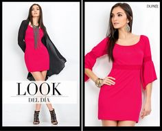 Look del día. #Moda #Tendencia Dupree Colombia Dresses For Work, Fashion, Colombia, Trends, Moda, Fashion Styles, Fashion Illustrations, Fashion Models