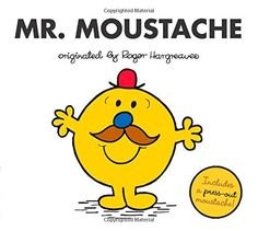 Mr. Moustache (Mr. Men and Little Miss): Adam Hargreaves: 9780843180817: Amazon.com: Books