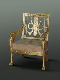 Armchair ,   1805/1806   Russia