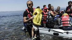 Read the following article paper on Migrant Arrivals in Greece Climb to 7000 Daily.