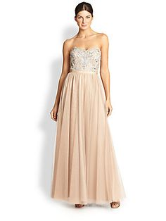 @tojey now, we're getting pricey here... especially if we were to take it up... but look... [Aidan Mattox Strapless Beaded Tulle Ball Gown $357]