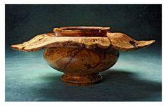 'Turned Oak Burl' (oak) by Jim Madden