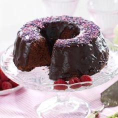 Oppskrift på Sjokoladekake i randform