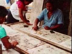How they make the Amate Paper for Mexican bark Paintings