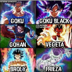 "155 Likes, 14 Comments - ᎪᏁᎥmᎬ__fᎪᏁᎪᏆᎥᏟ ||17k|| (@anime__fanatic) on Instagram: ""Who is your Favorite DBZ/DBS Character? My favorite for DBZ is Gohan and DBS is Frieza right now…"""
