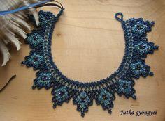 Jutka gyöngyei: Ukrán.  Crochet.