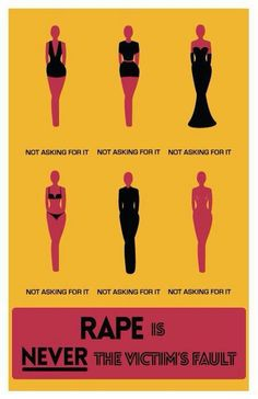 "Rape culture keeps women from feeling safe  at night because if they're wearing something revealing, people may say she's ""asking for it"" and if sexual assault were to happen she may not be taken seriously. This is an issue that needs to change. Men need to take responsibility for what they do and not place the blame on the victims."