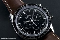 Montre sport Omega Speedmaster Moonwatch First Omega in Space