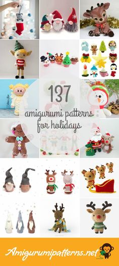 Amigurumi Patterns For Holidays