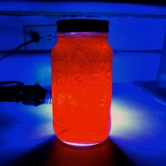 Learn about luminescence with glowing Jell-O. | 19 Kitchen Science Experiments You Can Eat
