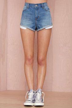 Nasty Gal Denim - The MILF Cutoff Shorts - Denim | Bottoms | All Denim | Nasty Gal Denim