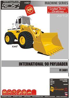 international 90 payloader