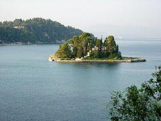 Κέρκυρα Αξιοθέατα, Ποντικονήσι | travelovergreece Greece Travel, River, Outdoor, Outdoors, Greece Vacation, Rivers, Outdoor Games