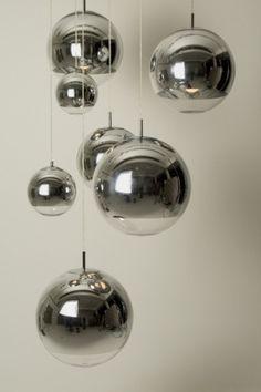 Tom Dixon Mirror Ball Pendel - Taklamper-Hengelamper - Belysning MUST HAVE FOR THE STAIRWAY CEILING