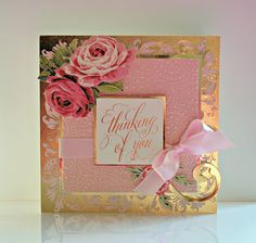 Thanks for visiting today! I'm sharing a few cards that I made for Anna Griffin's May HSN show with her Grand Duet folders .  The folders ...