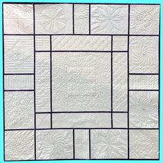 An Introduction to Ruler Foot Quilting with Templates – (Quilt As You Quilt As You Go, Quilting Rulers, Block Design, Quilt Patterns, Quilting Ideas, Quilts, Learning, Sewing, Design Templates