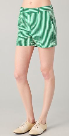 stripe shorts from madewell $60