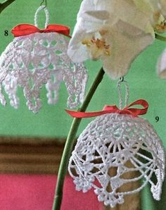 Campane gancio - would look lovely as bauble covers