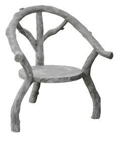 oly kiki cement cast chair.