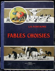 Fable de la Fontaine 1930