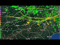 Scattered storms developing. 4/14/2015