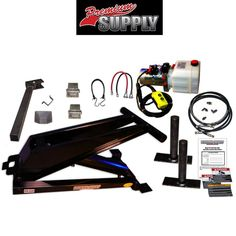 10 Ton (20,000 lb) Dump Trailer Hydraulic Scissor Hoist Kit - PH520
