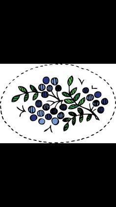 Strawberry Blueberry, Arabic Calligraphy, Needlepoint, Arabic Calligraphy Art