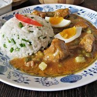 Thai Red Curry, Meat, Chicken, Ethnic Recipes, Red Peppers, Cubs