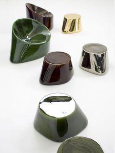 Ceramic stools #tabouret en céramique