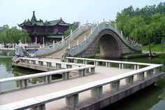 Twenty Four Bridge of Slender West Lake, China