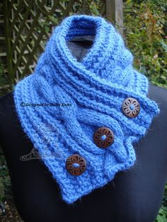 Alpaca Neck Warmer Blue Knitted Scarf Cabled Neck Warmer Neck Warmer, Trending Outfits, Crochet, Unique Jewelry, Handmade Gifts, Blue, Accessories, Etsy, Fashion