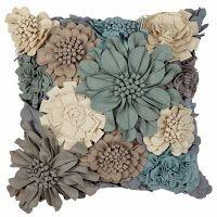 Милые сердцу штучки: Диванные подушки: войлок, фетр и умелые руки