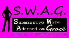 Came across this blog series and really have enjoyed it so I wanted to share...Faithful Feat: Introducing S.W.A.G