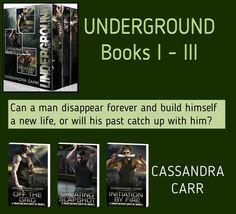 INDIE SPOTLIGHT on Cassandra Carr's UNDERGOUND Boxed Set @Cassandra_Carr