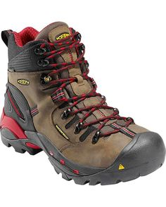 NEW Men's Pittsburgh 6 Waterproof Work Boot Steel Toe Bison Size 10 Medium #fashion #clothing #shoes #accessories #mensshoes #boots (ebay link)