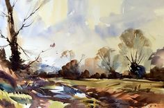 Painting the Landscape in Watercolours with Steve Hall - Nadia ...