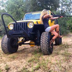 """@ashlynmachado """"Good girls go to heaven, #JeepHers go where ever they want!'"""" #jeepher #jeep www.jeepbeef.com #Padgram"""