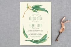 Eucalyptus Leaves by Four Wet Feet Studio at minted.com