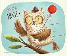you're a hoot! by Jennifer A. Bell, via Flickr