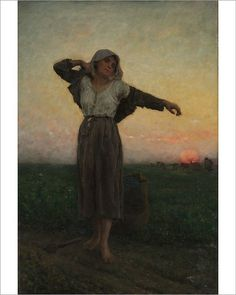 Summer   by Jules Breton  Paper Print Repro