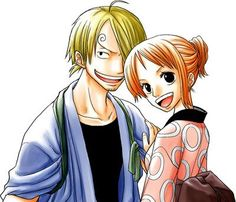 Sanji et Nami _yukata et kimono_