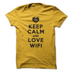 (Greatest Worth) Keep Calm and Love WiFi - Gross sales...