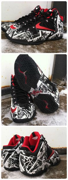 "Cop the Nike LeBron XI ""Graffiti"" when it drops on January 25th. #Basketball #Shoes"